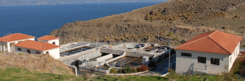 Mythimnas treatment and wastewater facilities