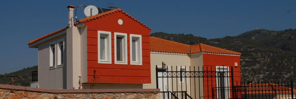 Development of six luxury houses in Loutra, Mytilene