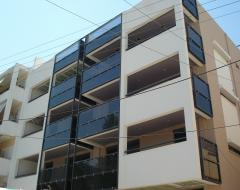 Development of a four apartment building with basement at 26 Iakinthou str, Mytilene